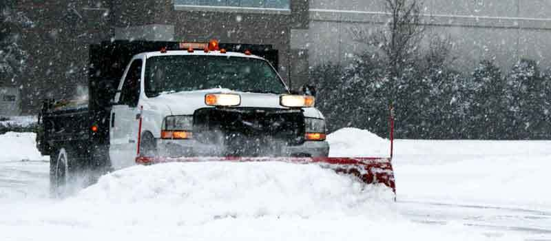 Avoid deck damage! Mayas Painting has snow removal services