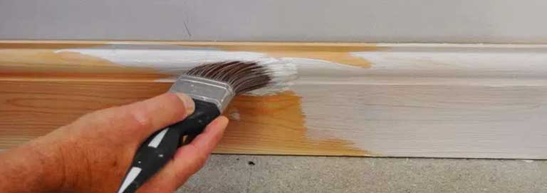 Mayas Painting provides amazing results when painting trims