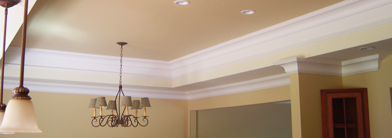 How to start painting ceilings properly in your house