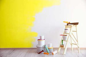 drier winter air provides high quality paint
