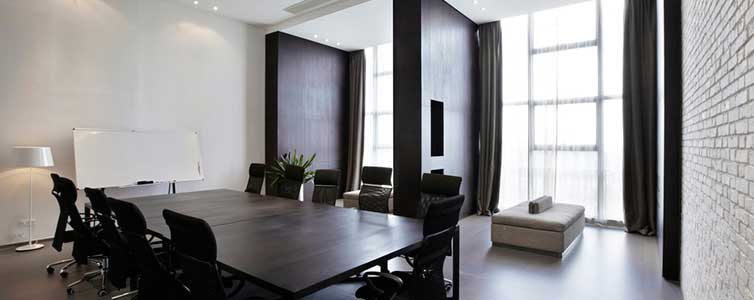 Perfect Interior Painting of Meeting Room
