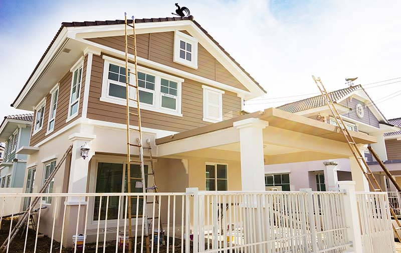 Enjoy All the Benefits of Home Exterior Painting Services