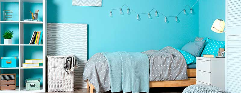 Light Blue Palette in Children Bedroom